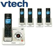 Vtech Ls6425-3 W/ 2 Ls6405 Expandable Cordless Phone With 5 Handsets
