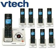 Vtech Ls6425-3 W/ 5 Ls6405 Expandable Cordless Phone With 8 Handsets