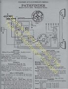 1916-18 Apperson 6-16 8-16 6-17 8-17 Car Wiring Diagram Electric System Spec 408