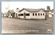 Gas Station Colo-wyo State Line Jim's Place Antique Real Photo Postcard Rppc