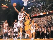 Shooting For Gold Lithograph By Bart Forbes 1992 Olympic Gold Medal Dream Team