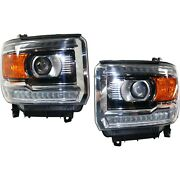 84180592, 84012633, 84180593 New Driver And Passenger Side Hid/xenon Lh Rh For Gmc