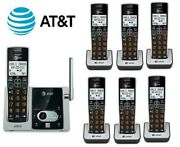 Atandt Cl82313 W/ Cl80113 7 Handset Cordless Answering System Caller Id/call New