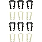 Set-rb800023-2 Dorman Set Of 6 Fuel Line Brackets Gas New For Chevy Olds Yukon