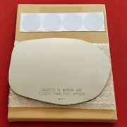 Mirror Glass + Adhesive For 14-17 Honda Odyssey Passenger Side Replacement-heat
