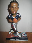 Forever Collectibles Randy Moss Mo. 81 New England Patriots 7 Ltd Bobble Head