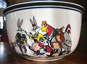 Warner Brothers Foghorn Leghorn And Friends 1933 Large Bowl
