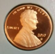 2010 Lincoln Shield Cent S - Proof - Uncirculated
