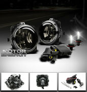 00-07 Focus/mustang/escape/lincoln Ls Bumper Smoke Fog Lights+6000k Hid+switch