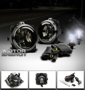 00-07 Focus/mustang/escape/lincoln Ls Bumper Smoke Fog Lights+8000k Hid+switch