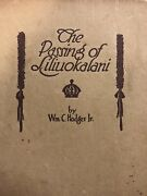 Book The Passing Of Liliuokalani By Am.c Hodges Jr.