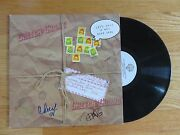 Cheech Marin And Tommy Chong Signed 1980 Let's Make A Dope Deal Record Up In Smoke