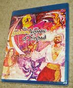 The Golden Voyage Of Sinbad Limited Edition Twilight Time Blu-ray,new And Sealed
