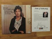 Bruce Springsteen Signed Darkness On The Edge Of Town 1978 Record Psa Letter