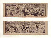 Fearless Fosdick By Al Capp - First 2 Ads For Wildroot Cream Oil - Dec. 1953