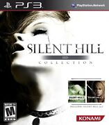 Playstation 3 Ps3 Game Silent Hill Hd Collection Brand New Sealed