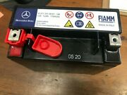 Original Genuine Mercedes Benz Secondary Backup Sbc Auxiliary Aux Battery W211