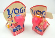 1p Pair Yogi Yo Gi Bird Wind Up Plastic Toys Tigrett In Packages 1960and039s