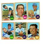 Ron Fisher Vintage Signed 1968 Topps 444 White Sox