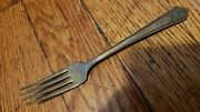 Antique, Vintage Collectible Fork 6 Imperial Silver Plate-