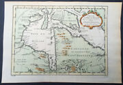 1757 Nicolas Bellin Large Antique Map Of Hudsons Bay And Provinces Canada