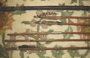 Antique South American Brazillian Native Indian 7 Ft. Bow With 5 Arrows