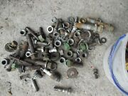 John Deere A Tractor Jd 1951 Box Of Nuts Bolts Parts Pieces