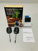 Wireless Meat Thermometer Oven Smoker Bbq Grill Remote Digital Food 2 Probes Bt