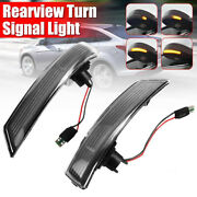 Dynamic Led Turn Signal Side Rearview Mirror Light For Ford Focus 2 3 Mk2 Mondeo
