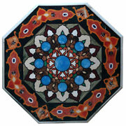 36 Marble Table Top Pietra Dura Inlay Art Work For Home Decor For Gift