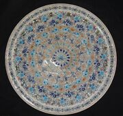 18 Marble Plate Inlay Work Stone Pietra Dura Handmade Home Decor And Gifts