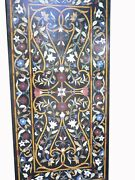 54 X 32 Marble Coffee Table Pietra Dura Inlay Art Handcrafted Work
