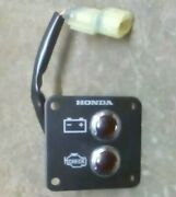 Honda Outboard Dash Warning Lights 40-250hp Check Engine And Battery Oem W/ Plug
