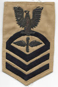 Usn Bullion Aviation Machinists Mate Cpo Rate / Patch