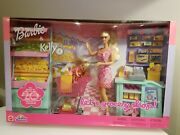 Barbie And Kelly Dolls Letand039s Grocery Shop 27 Piece Playset Toysrus Exclusive