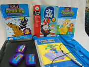 Leap Frog Leap Pad Pro Learning System 4 Books 3 Cartridges Backpack Carrier