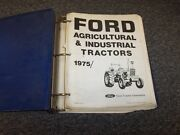 Ford Industrial 420 535 Tractor Workshop Shop Service Repair Manual Guide Book