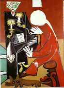 Wall Art Hand Painted Abstract Pablo Picasso Oil Painting Reproduction On Canvas