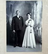Cabinet Photo Wedding Andrew And Belle Stewart Harlan,iowa Shelby County