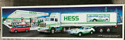 Vintage 1992 Hess Toy 18 Wheeler Truck And Racer New