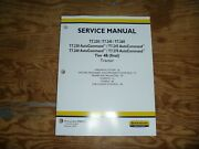 New Holland T7.230 And Autocommand Tier 4b Tractor Steering Wheels Service Manual