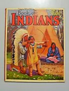 Vintage Book Of Indians 1949 By Arnold Hicks Native Americans