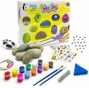 Rock Painting Kit For Kids Extra Large Arts And Crafts Kit Indoor Outdoor