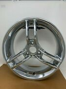 Oem Can-am Spyder Gs Roadster 08and039-09and039 Chrome Front Wheel Set