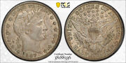 1907 D 50c Barber Half Dollar Pcgs Au 53 About Uncirculated Cac Approved