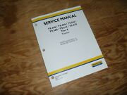 New Holland T9.505 T9.560 Tier 4 Tractor Pto Brakes Shop Service Repair Manual