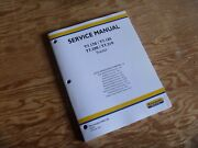 New Holland T7.200 T7.210 Tractor Steering Brakes Hydraulic Shop Service Manual