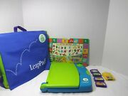 Leap Frog / Leap Pad Learning System Bundle. Games / Books