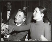 Actor Glenn Ford And Cynthia Hayward Third Wife Vintage Orig Photo By Nate Cutler