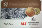 2016 Anzac To Afghanistan 25c Carded Coin Long Tan